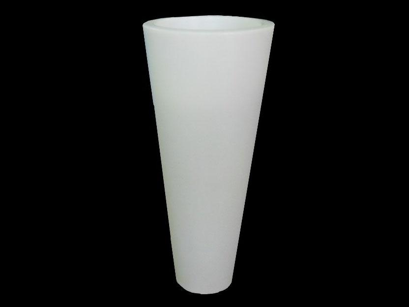 Вазон К-3896 WHITE