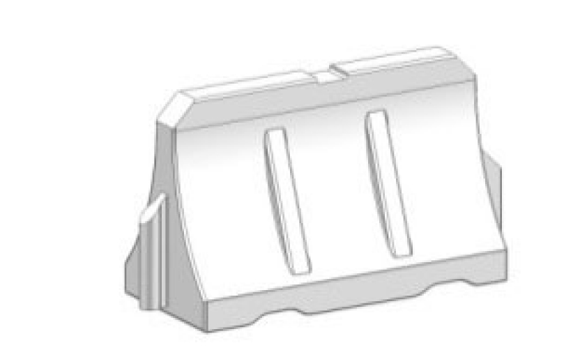 Блок дорожный БДВ-1200 (водоналивной вставной)