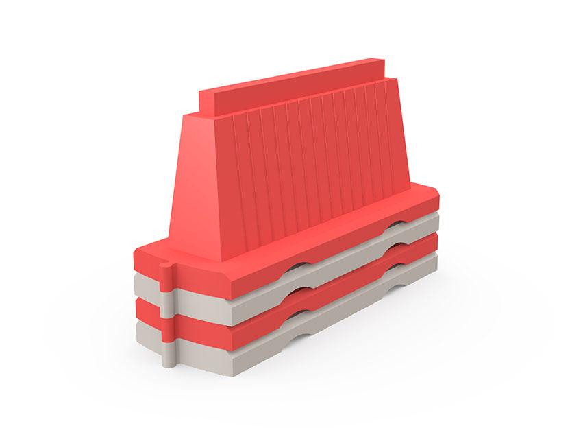 Блок дорожный БДВВ-1500 (водоналивной вставной)