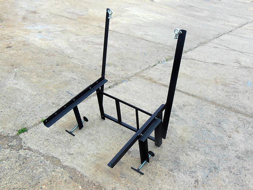 Кронштейн мусоросброса МСКВ-600 (вертикального крепления)