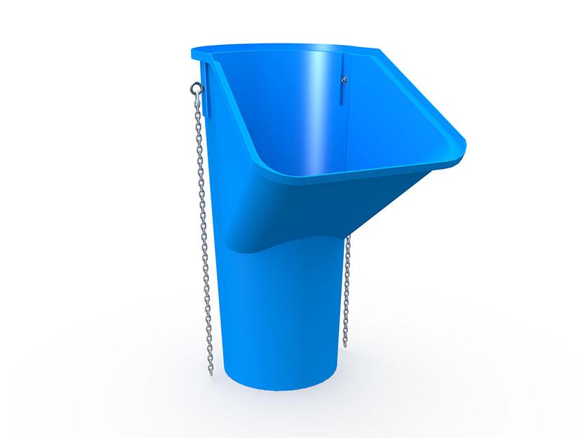 Секция мусоросброса приемная усиленная МССП-1200У